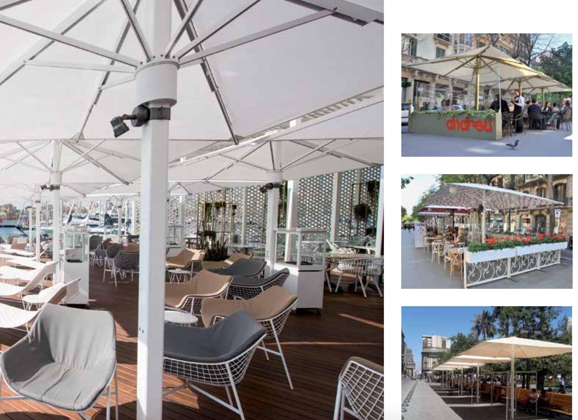 parasoles terraza rey del toldo 2